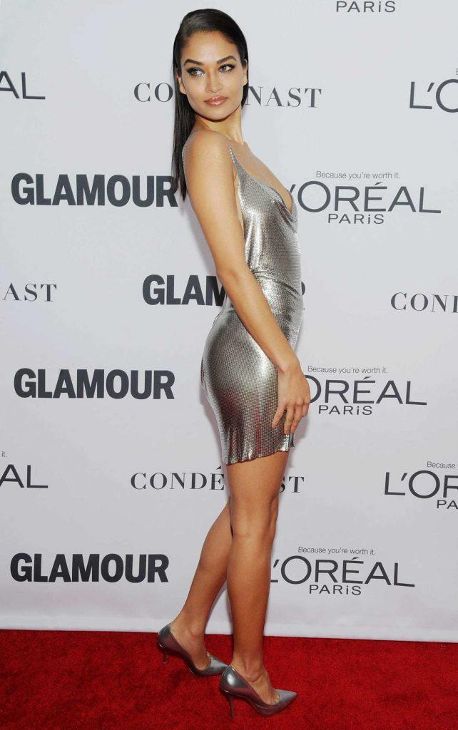 Shanina Shaik at 2017 Glamour Women of the Year Awards in NYC-3