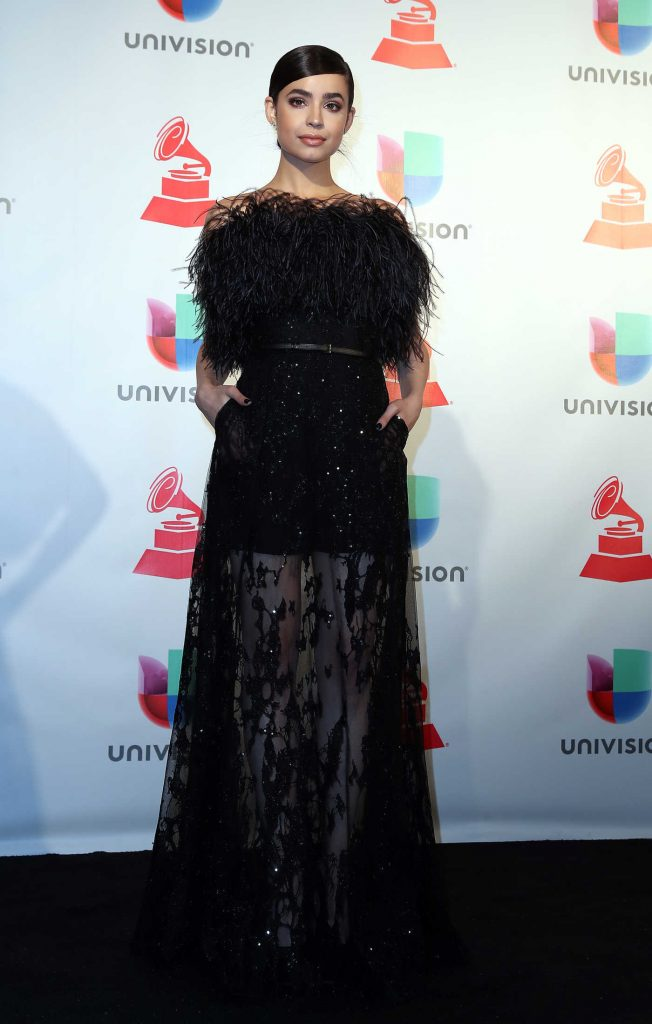 Sofia Carson at the 18th Annual Latin Grammy Awards in Las Vegas-1