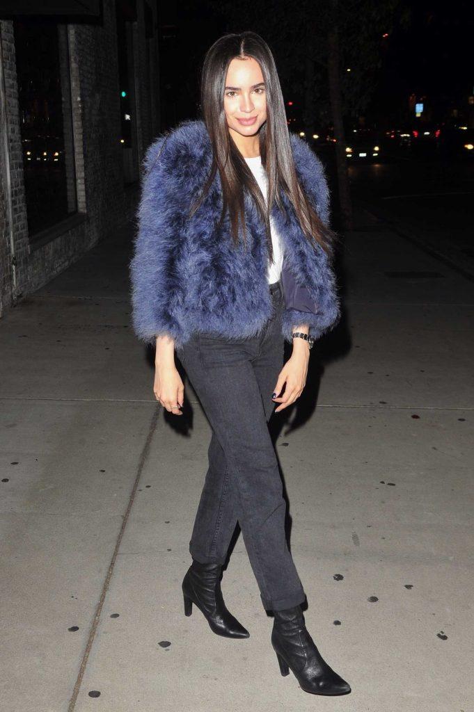 Sofia Carson Attends an Event at Kiehl's in LA-1