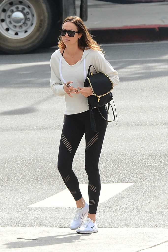 Stacy Keibler Was Seen Out in West Hollywood-1