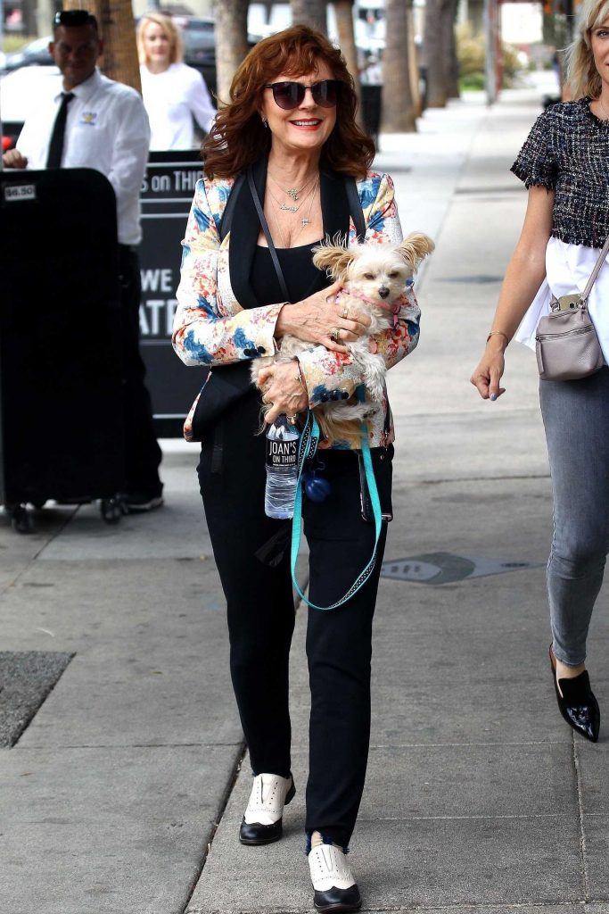 Susan Sarandon Was Seen Out in Studio City-2