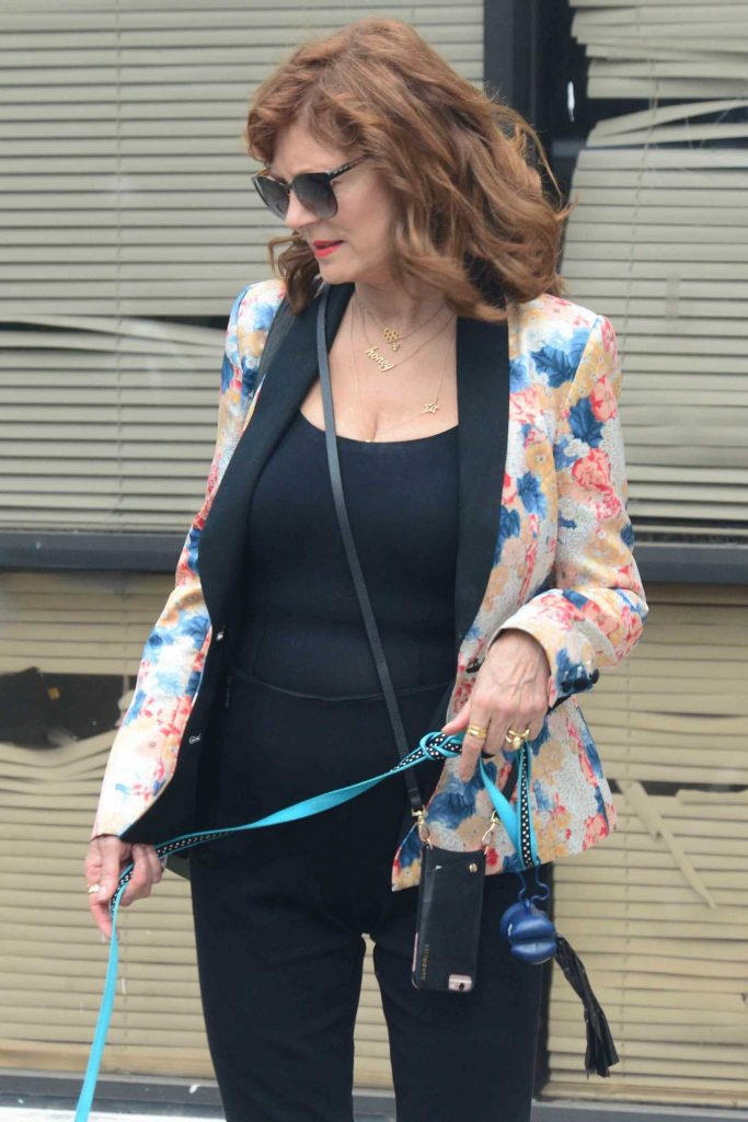 Susan Sarandon Was Seen Out in Studio City-5