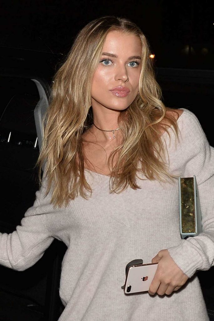 Tanya Mityushina Arrives at Chrissy Teigen Revolve Launch Party in Los Angeles-4