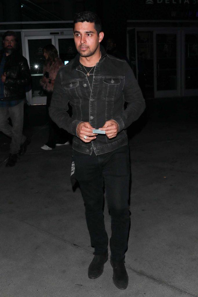 Wilmer Valderrama Leaves Guns N Roses Concert in Los Angeles-3