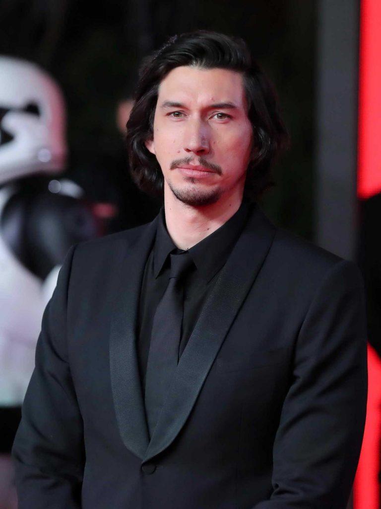 Adam Driver at the Star Wars: The Last Jedi Premiere in London-4