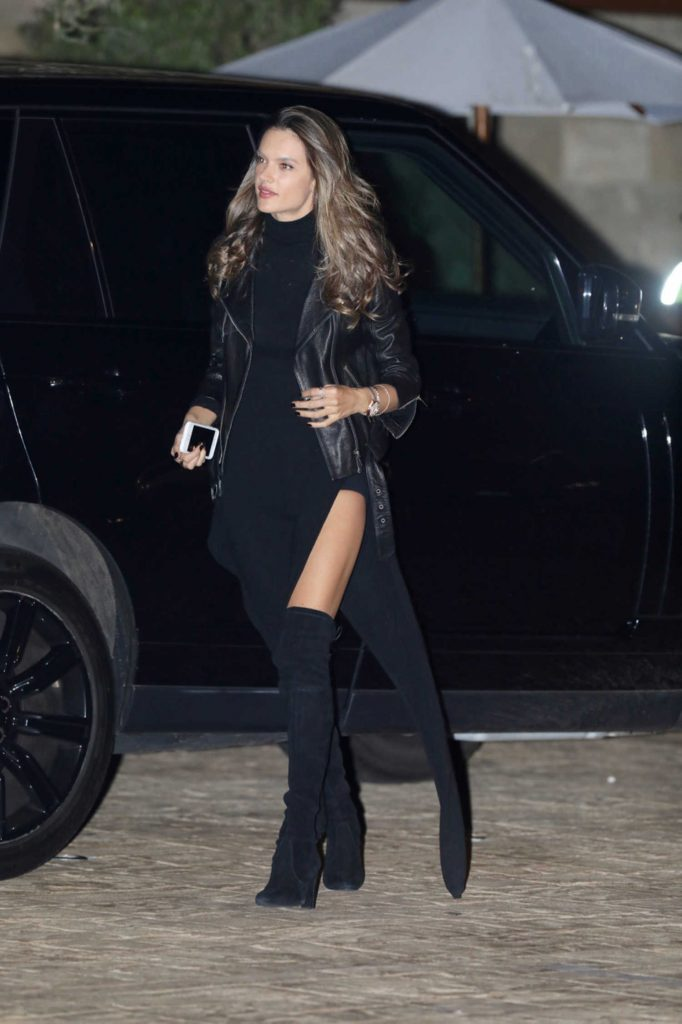 Alessandra Ambrosio Arrives at a Dinner with a Friend in LA-4