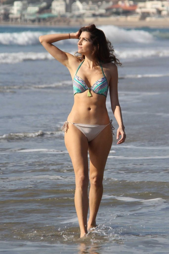 Blanca Blanco in Bikini at the Beach in Miami-3
