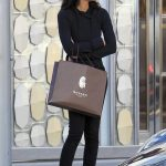 Chanel Iman Goes Shopping in Beverly Hills