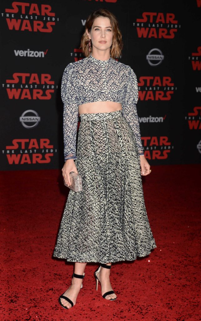 Cobie Smulders at the Star Wars: The Last Jedi Premiere in Los Angeles-1