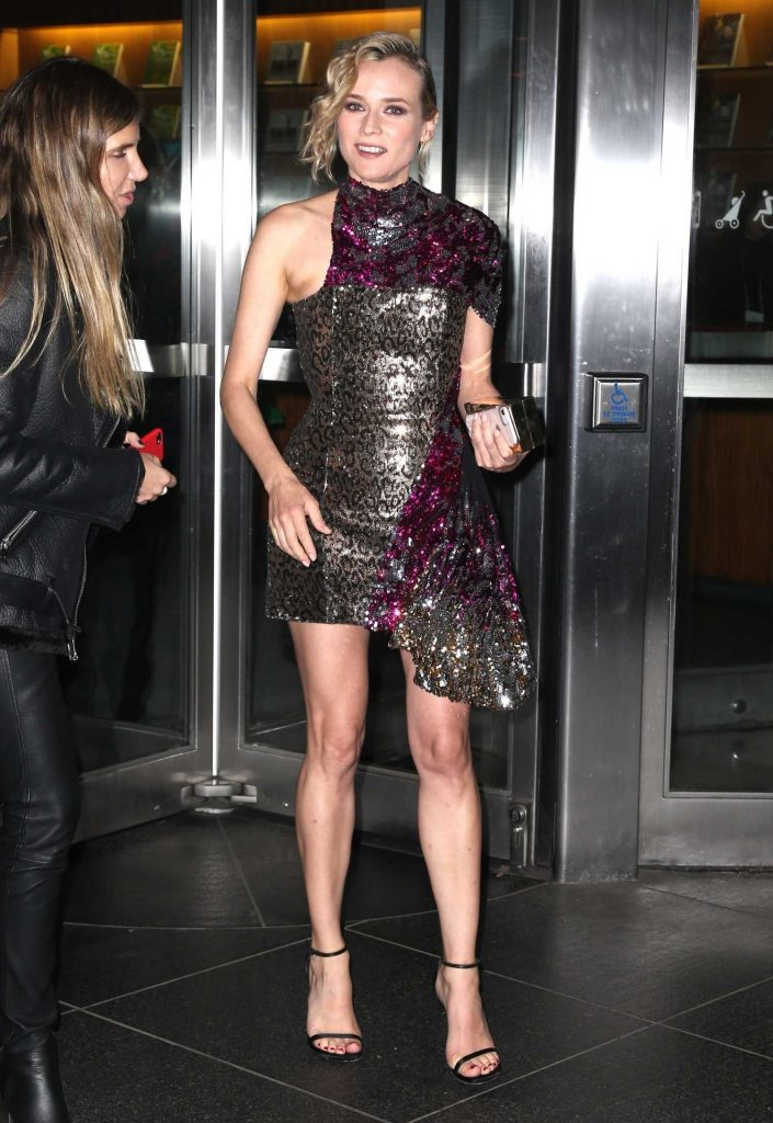 Diane Kruger Arrives at a Movie Screening at MOMA in New York-1