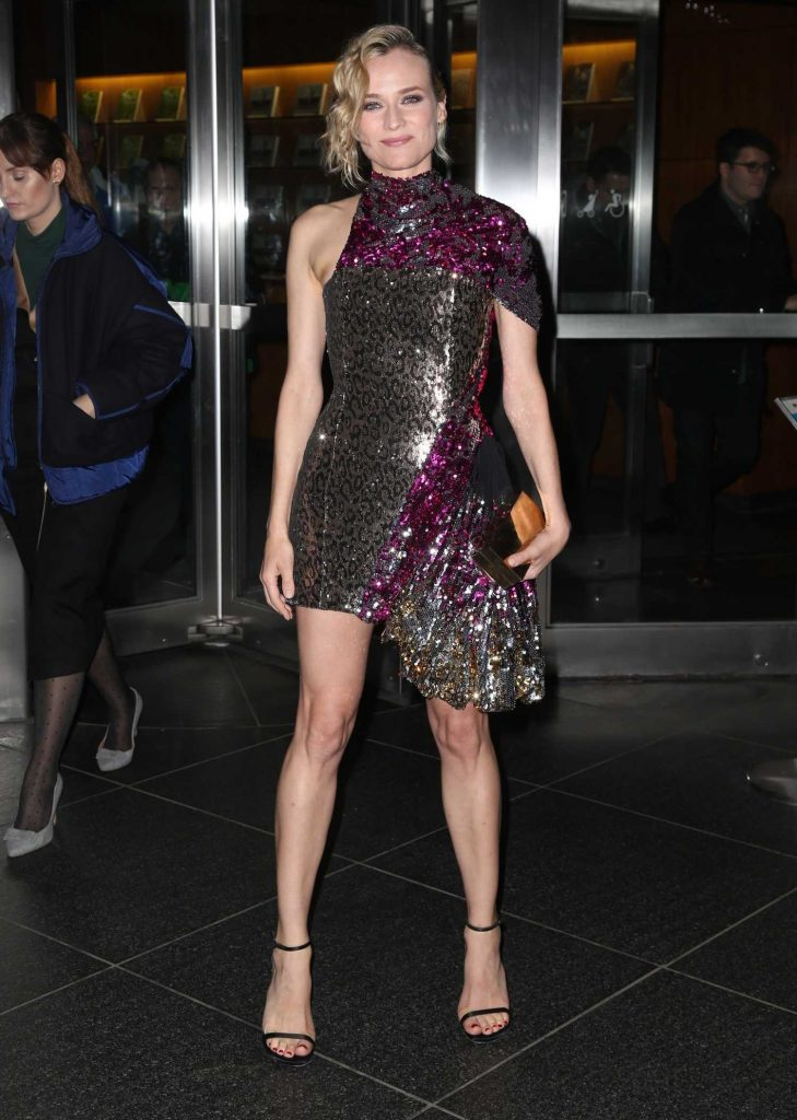 Diane Kruger Arrives at a Movie Screening at MOMA in New York-2
