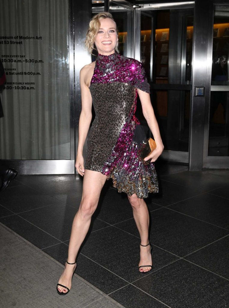 Diane Kruger Arrives at a Movie Screening at MOMA in New York-3