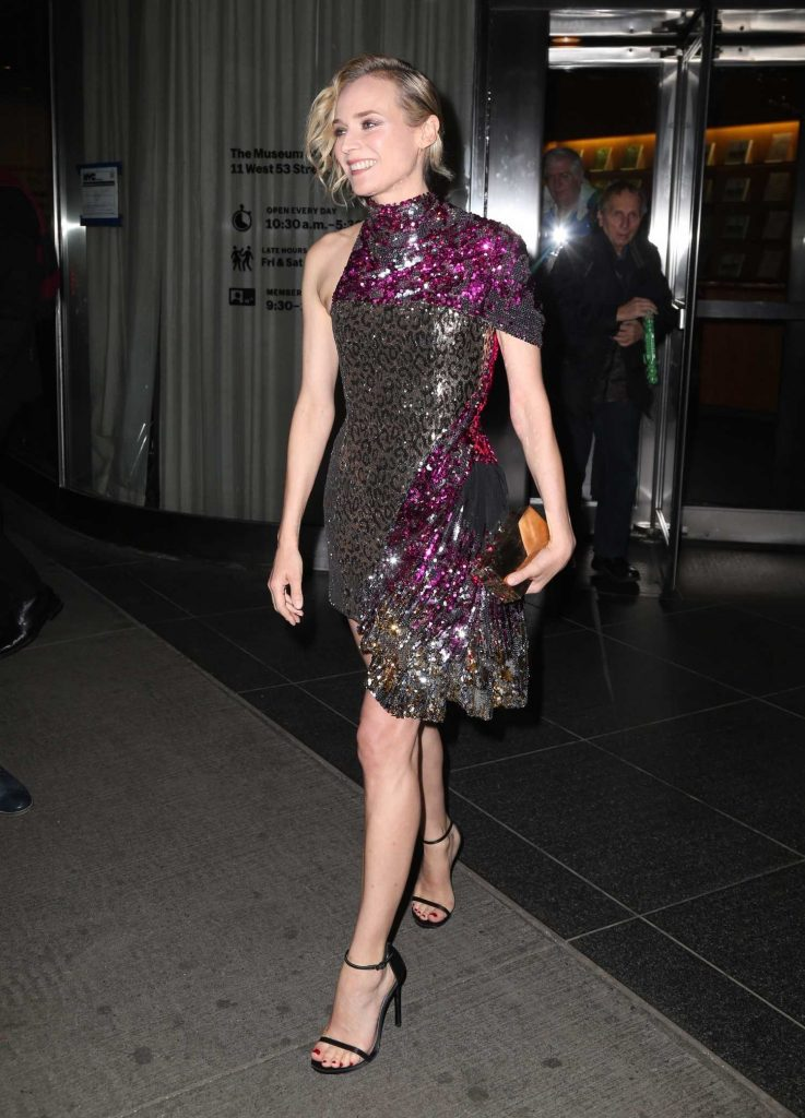 Diane Kruger Arrives at a Movie Screening at MOMA in New York-4
