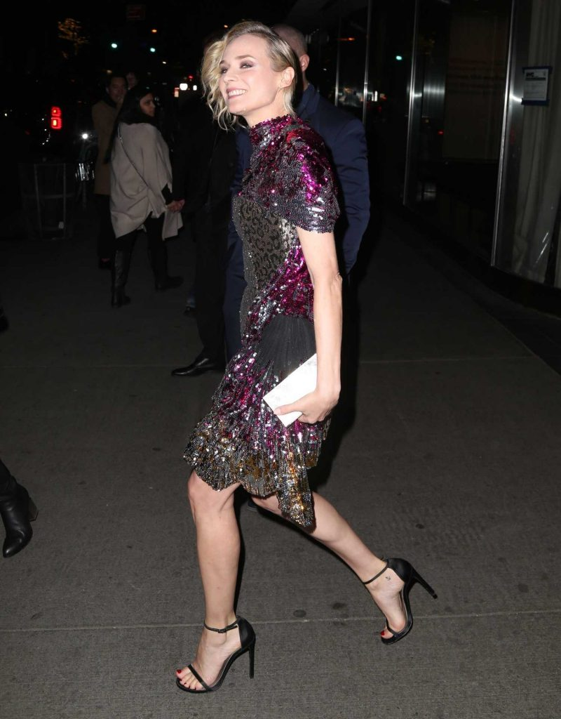 Diane Kruger Arrives at a Movie Screening at MOMA in New York-5