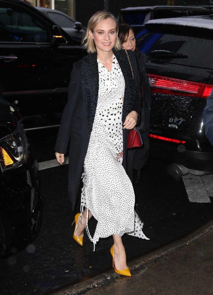 Diane Kruger Arrives at Good Morning America in New York City-1