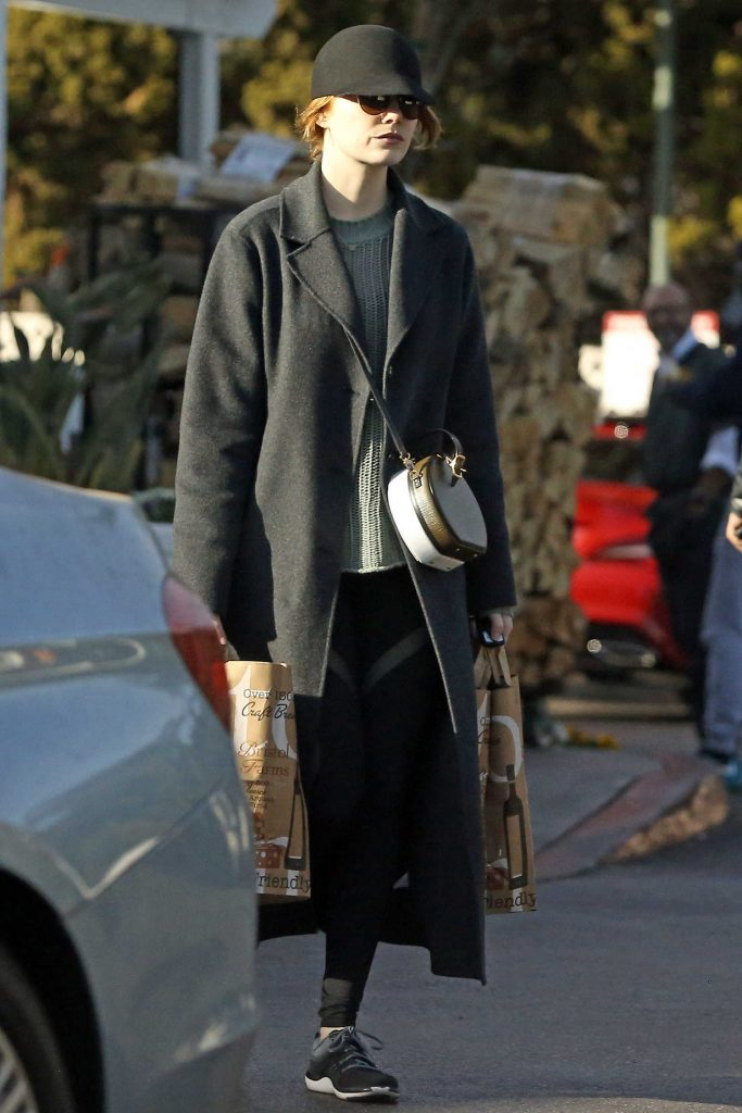 Emma Stone Goes Grocery Shopping in Beverly Hills-1