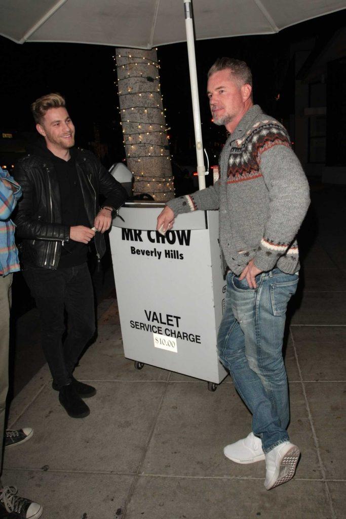 Eric Dane Leaves Mr. Chow Restaurant in Beverly Hills-1