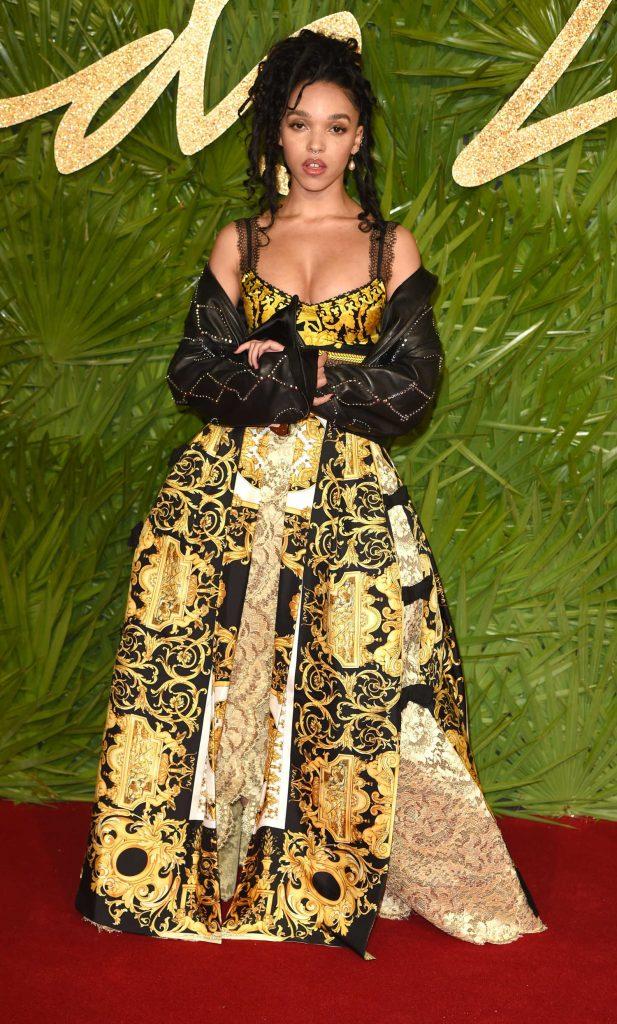 FKA Twigs at 2017 British Fashion Awards at the Royal Albert Hall in London 12/04/2017-1