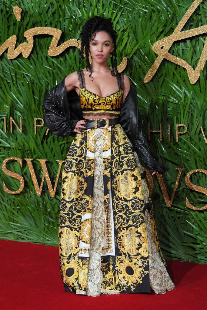 FKA Twigs at 2017 British Fashion Awards at the Royal Albert Hall in London 12/04/2017-3