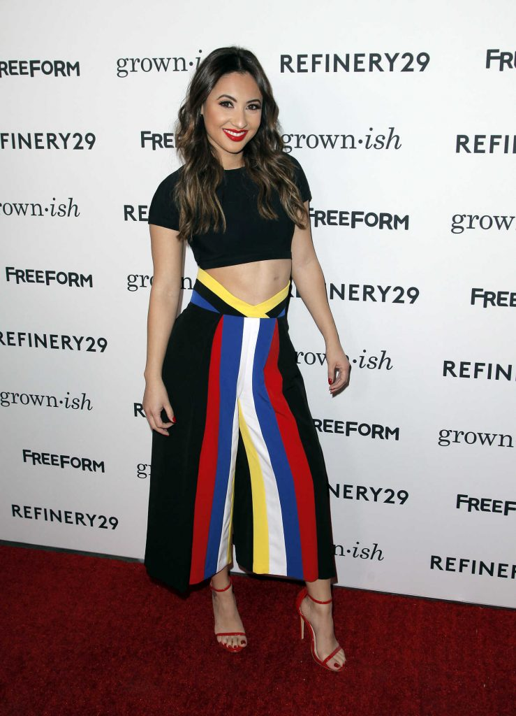 Francia Raisa at ABC's Grown-ish Premiere in Hollywood-1
