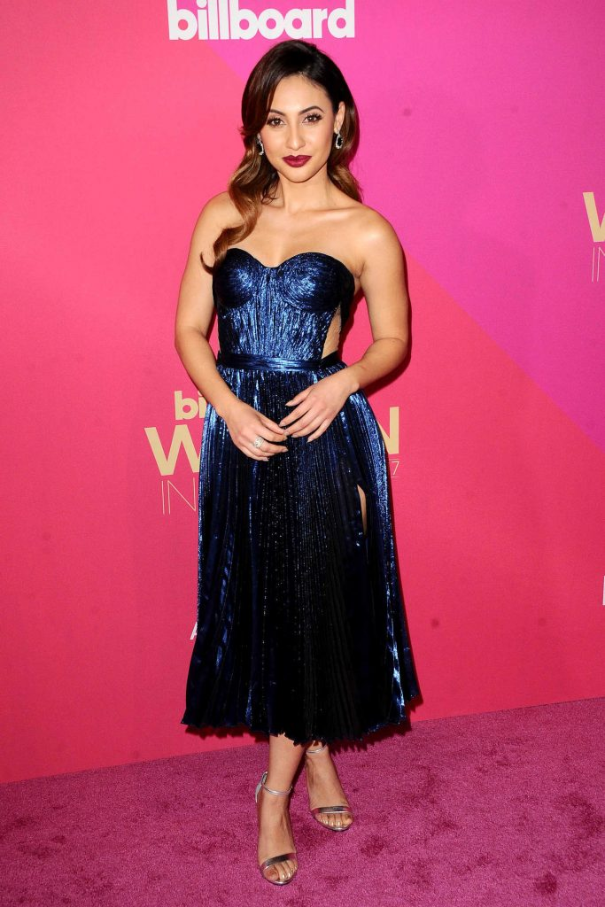 Francia Raisa at Billboard Women in Music in Los Angeles-1