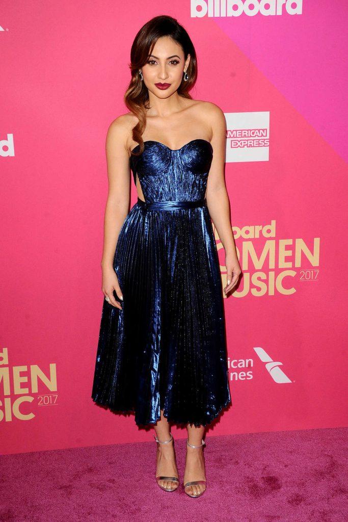 Francia Raisa at Billboard Women in Music in Los Angeles-2