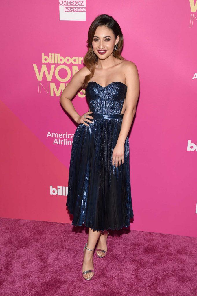 Francia Raisa at Billboard Women in Music in Los Angeles-3