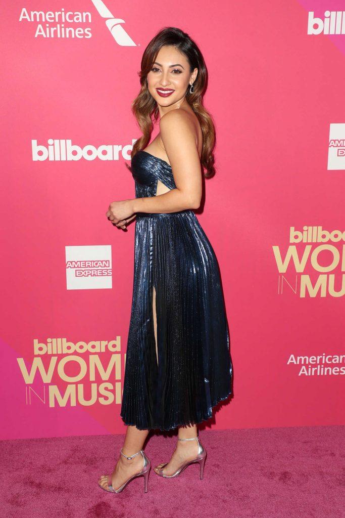 Francia Raisa at Billboard Women in Music in Los Angeles-4
