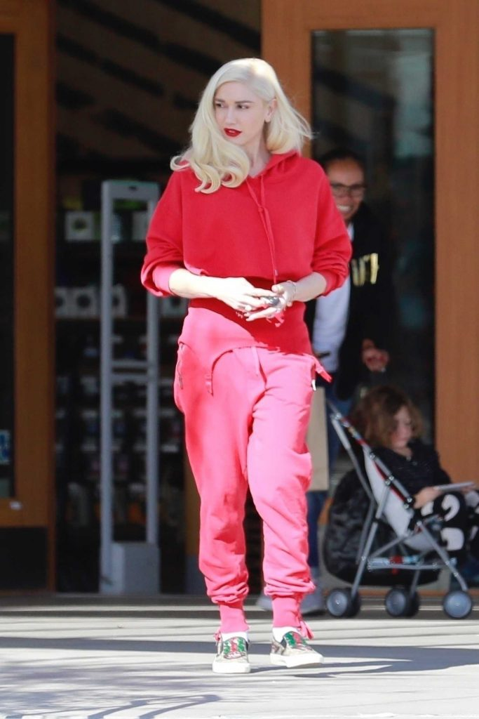Gwen Stefani Goes Shopping in Burbank-3