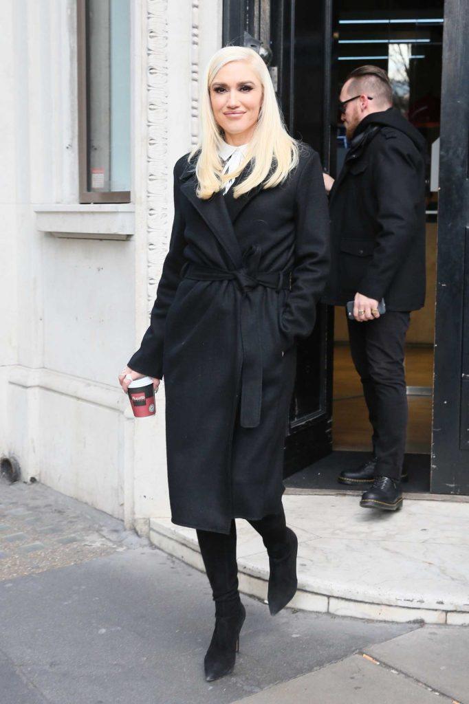 Gwen Stefani Leaves Kiss FM studios in London-2