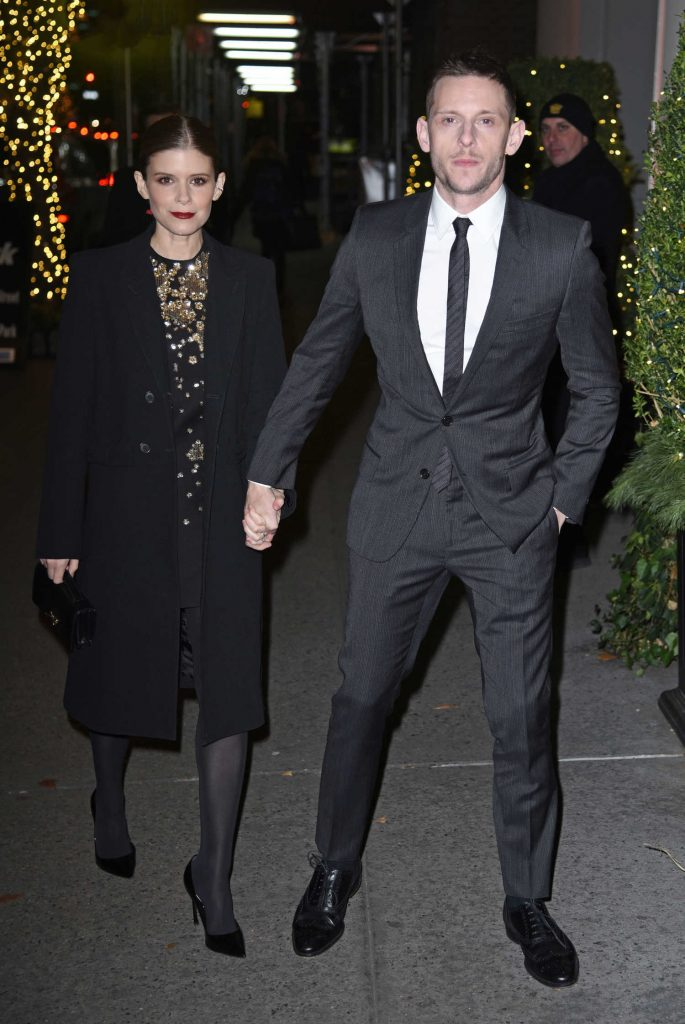 Kate Mara Leaves Museum of the Moving Image Salute to Annette Bening in NYC-3