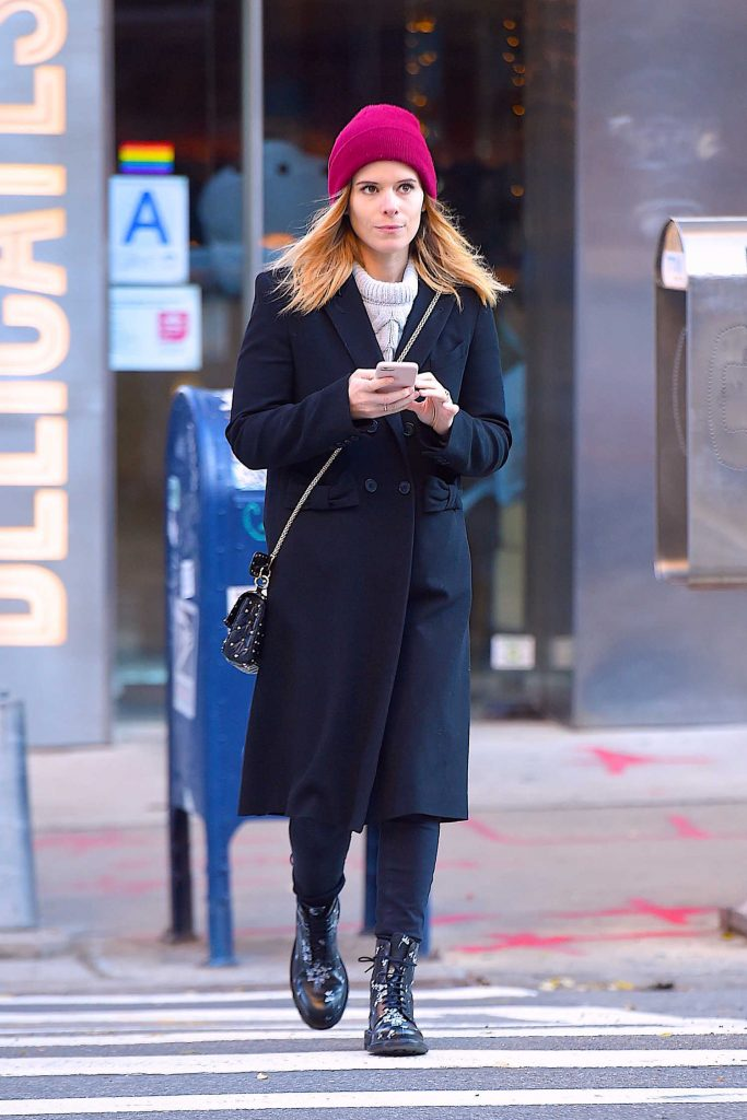 Kate Mara Out for a Stroll in Soho, NYC-1