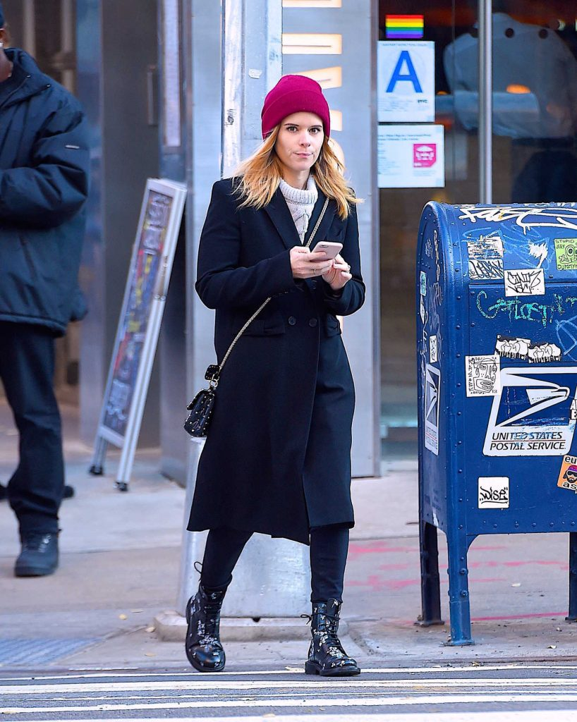 Kate Mara Out for a Stroll in Soho, NYC-2