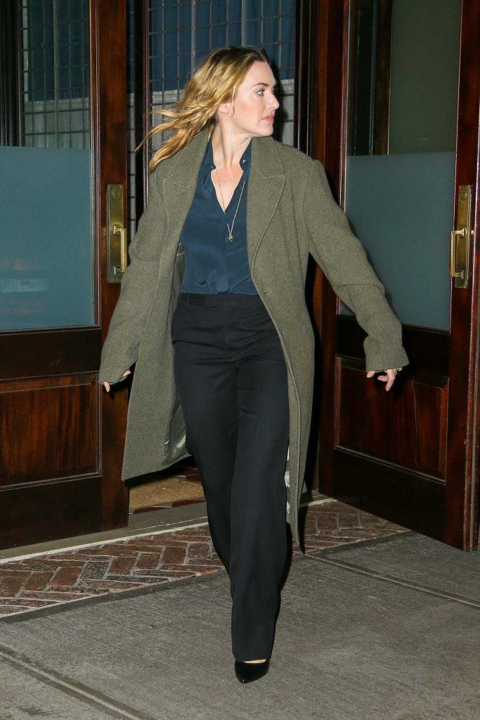 Kate Winslet Was Seen Out in New York City-3