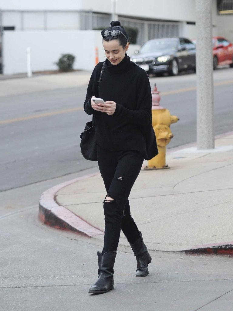 Krysten Ritter Leaves a Medical Building in LA-2
