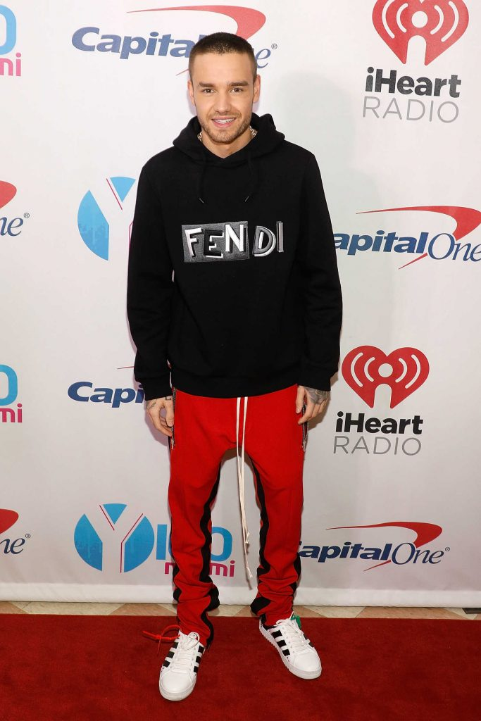 Liam Payne at Y100's Jingle Ball 2017 at BB&T Center in Sunrise-1
