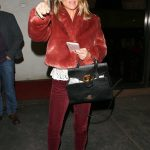 Lori Loughlin Leaves Madeo Restaurant in West Hollywood