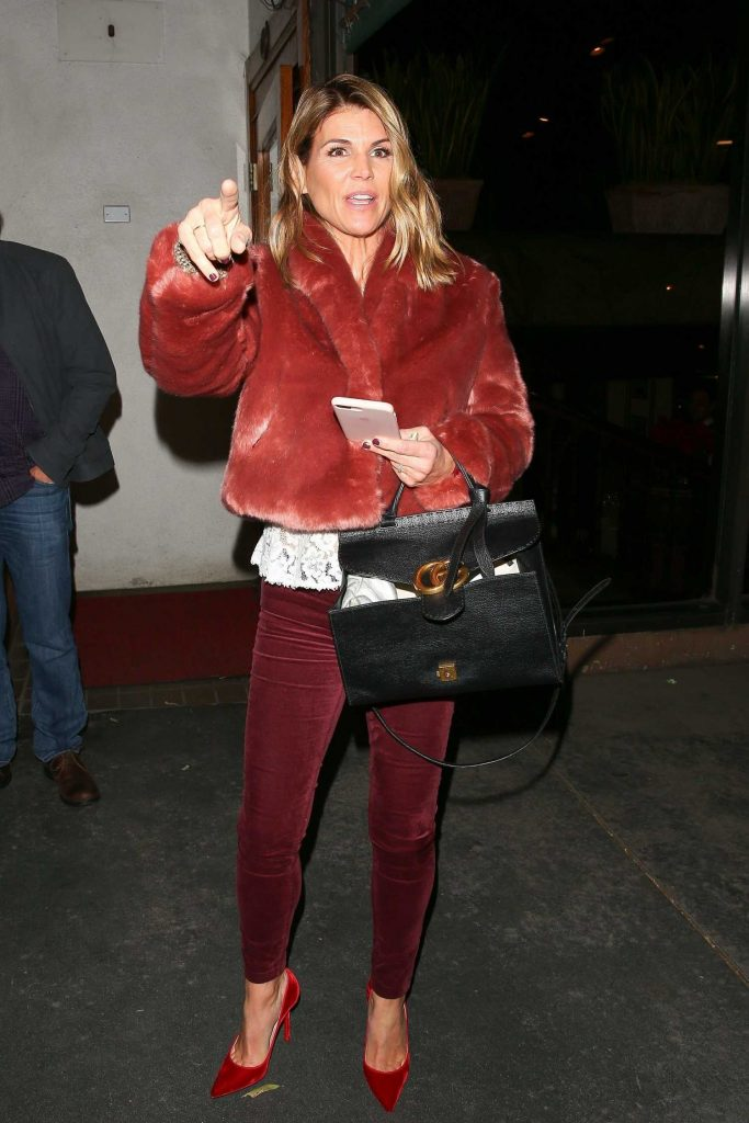 Lori Loughlin Leaves Madeo Restaurant in West Hollywood-1