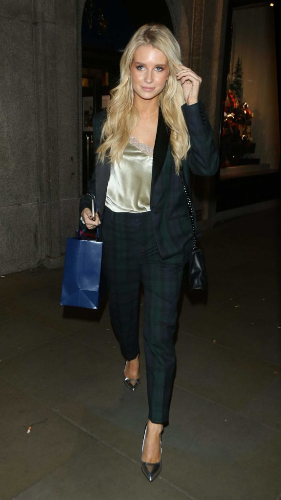 Lottie Moss Leaves Ralph Lauren Polo Bear Dinner at Ralph's Coffee in London-1