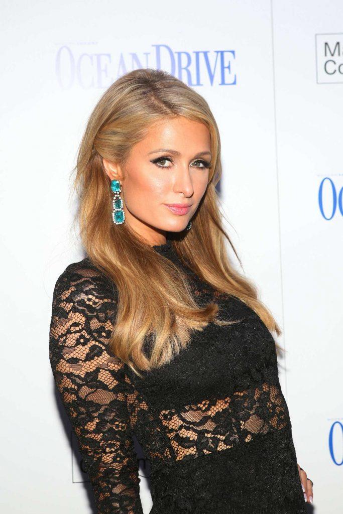 Paris Hilton Celebrate the Ocean Drive Magazine December Issue in Miami-5