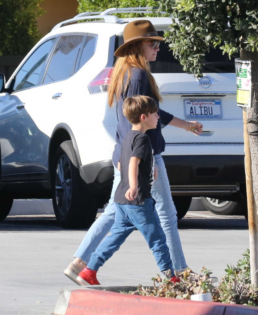 Patsy Palmer Was Spotted with Her Husband and Son in Malibu-2