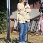 Rachel Bilson Goes Shopping for a Christmas Tree in Toluca Lake