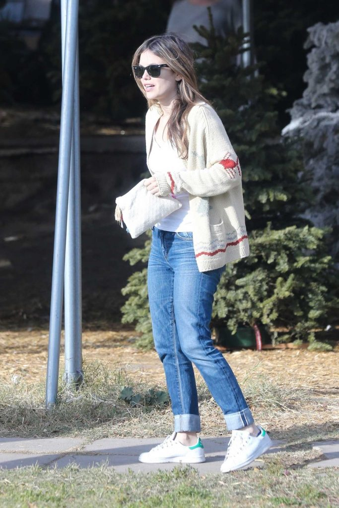 Rachel Bilson Goes Shopping for a Christmas Tree in Toluca Lake-4