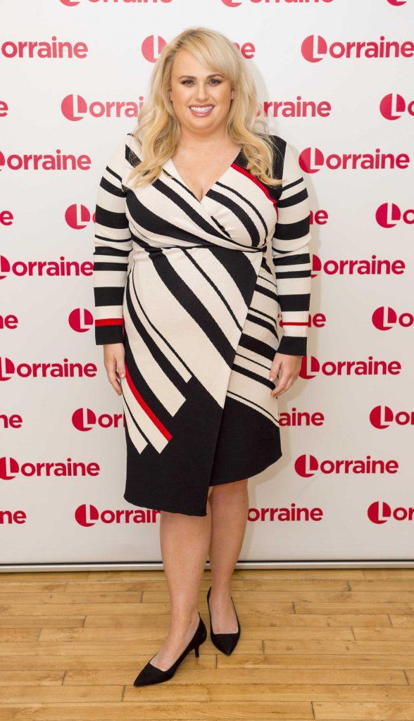 Rebel Wilson at Lorraine TV Show in London-1