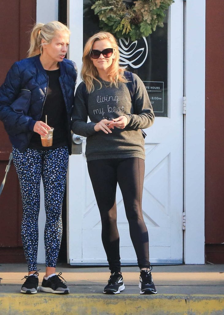 Reese Witherspoon Was Spotted Out in LA-2