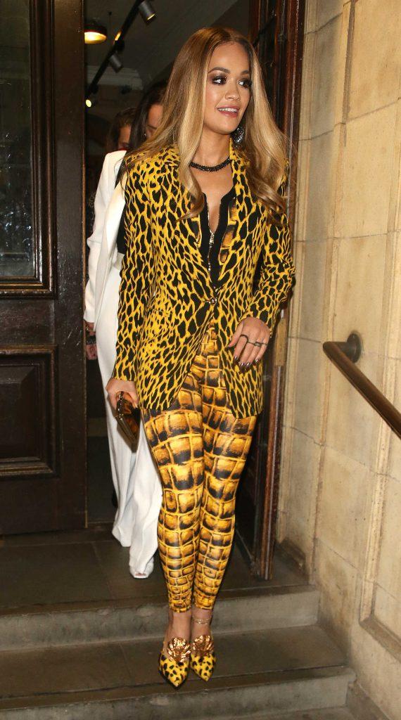 Rita Ora Leaves the Royal Albert Hall in London-2