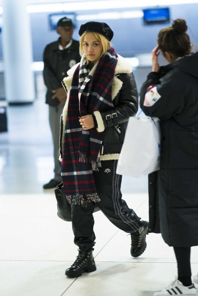 Rita Ora Was Spotted at JFK Airport in NYC-1