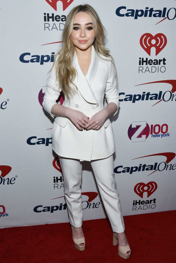 Sabrina Carpenter at Z100's Jingle Ball by Capital One at Madison Square Garden in New York City-1
