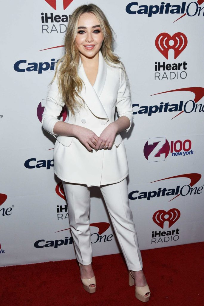 Sabrina Carpenter at Z100's Jingle Ball by Capital One at Madison Square Garden in New York City-2