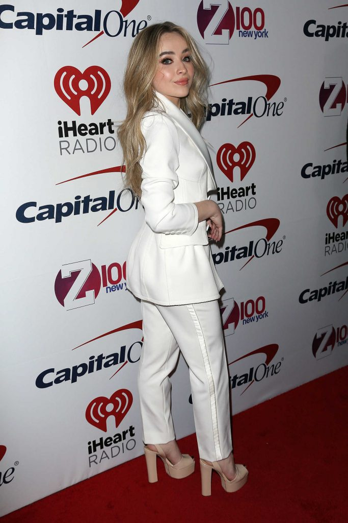Sabrina Carpenter at Z100's Jingle Ball by Capital One at Madison Square Garden in New York City-4